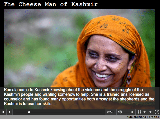 Multimedia: The Cheese Man of Kashmir