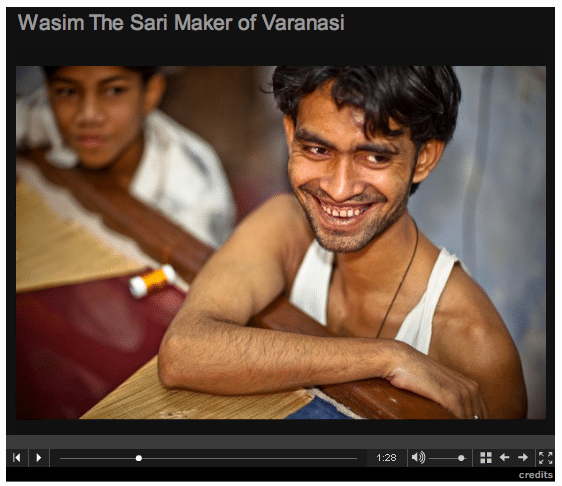 Multimedia: Wasim The Varanasi Sari Maker