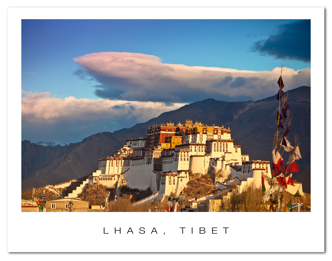 Postcard from Lhasa, Tibet