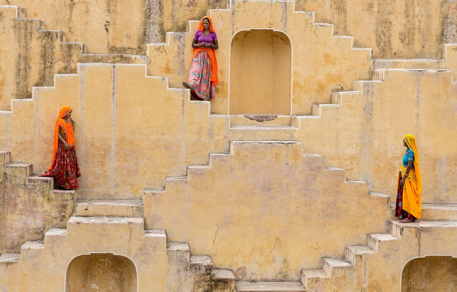 The Amber Stepwell: The Progression of a Shoot