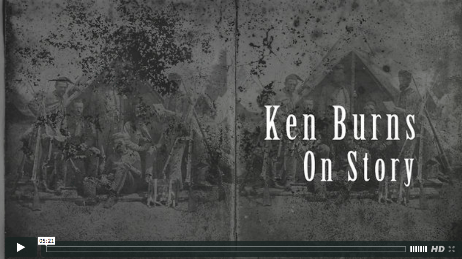 "Ken Burns, ""All story is manipulation"""