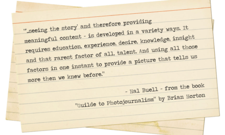 Take Note: Hal Buell
