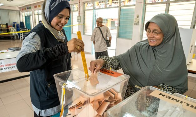 What does it look like to vote in Malaysia?