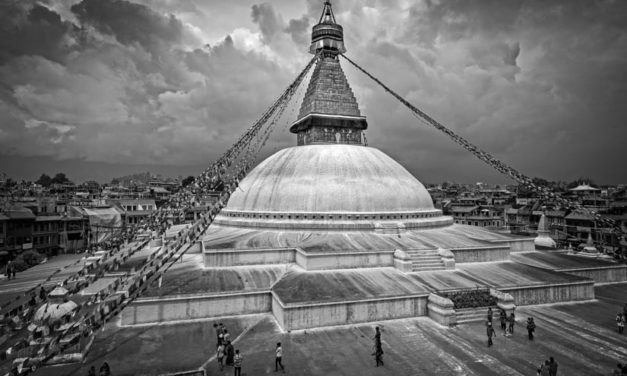 Kathmandu: In Black and White