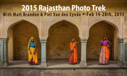 Rajasthan 2015 Photo Workshop Announced