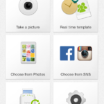 The Instax Share iPhone app.