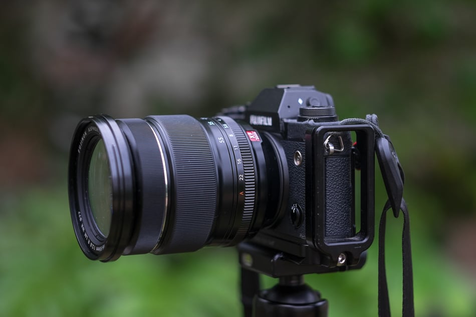 The not yet release Fujinon XF 16-55 mm f/2.8 R LM WR