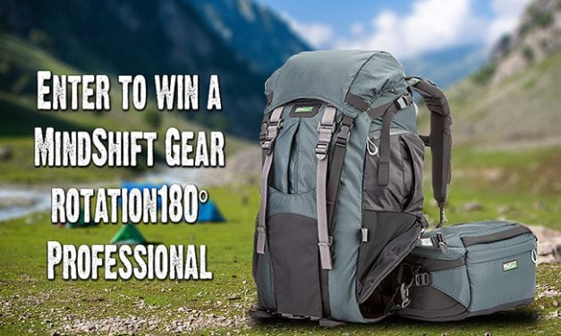 MindShift Gear rotation 180º Giveaway