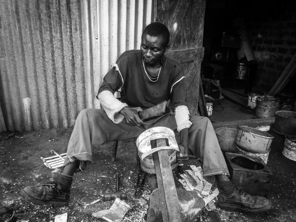 "The Day in the life of a 'jiko' Maker"" Photographed by Sa'Konzoni Z Juma"
