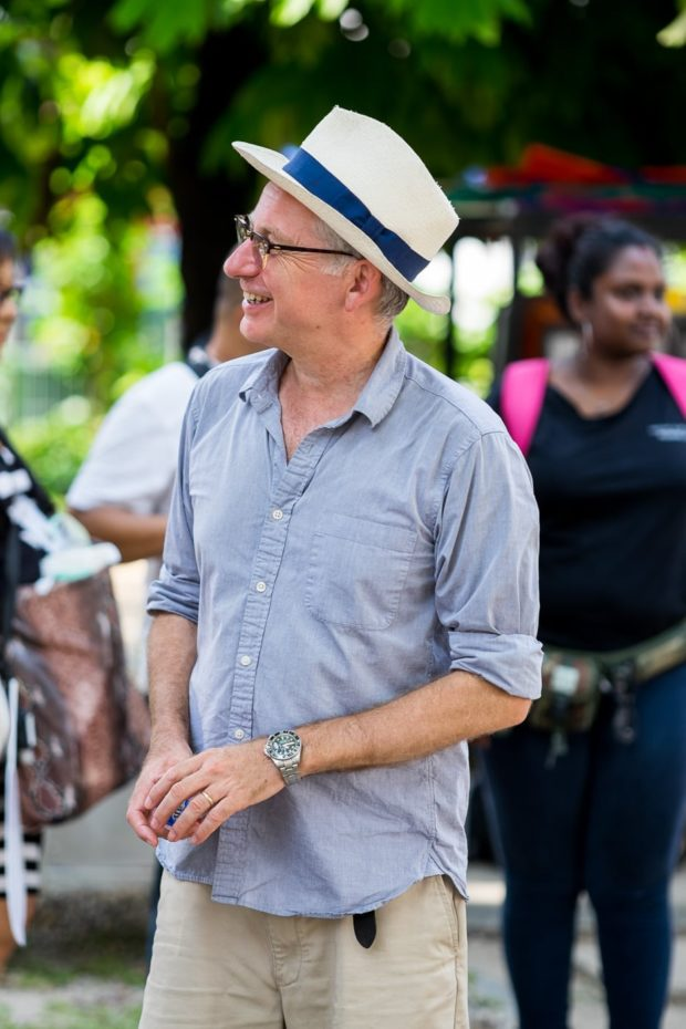 Indian Summers season 2 Director for block 1 John Alexander. He's got great taste in hats. ;-)