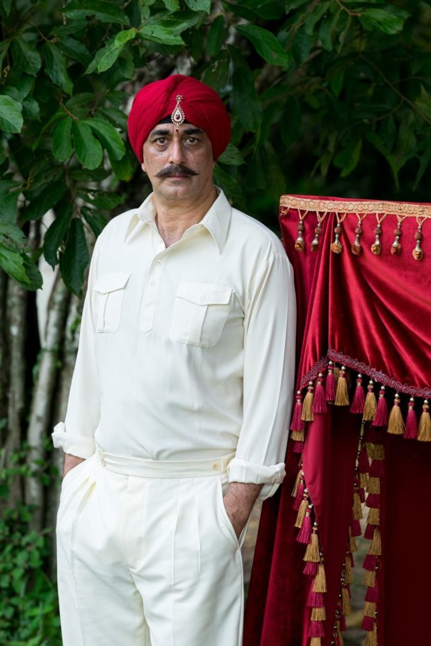 Actor Art Malik plays the Maharajah this season.