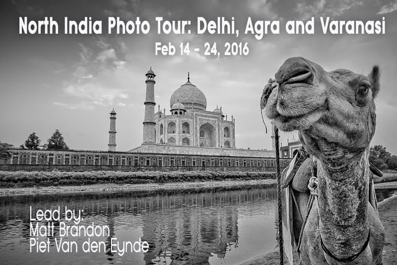 New Workshop Announced: Delhi, Agra & Varanasi
