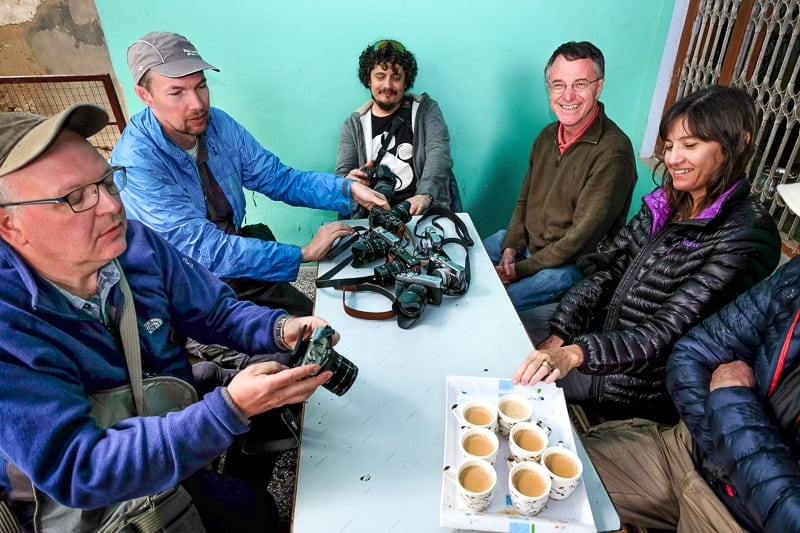 Piet & other X-photographers on our past India workshop take a break to talk about what Fujifilm is serving up.