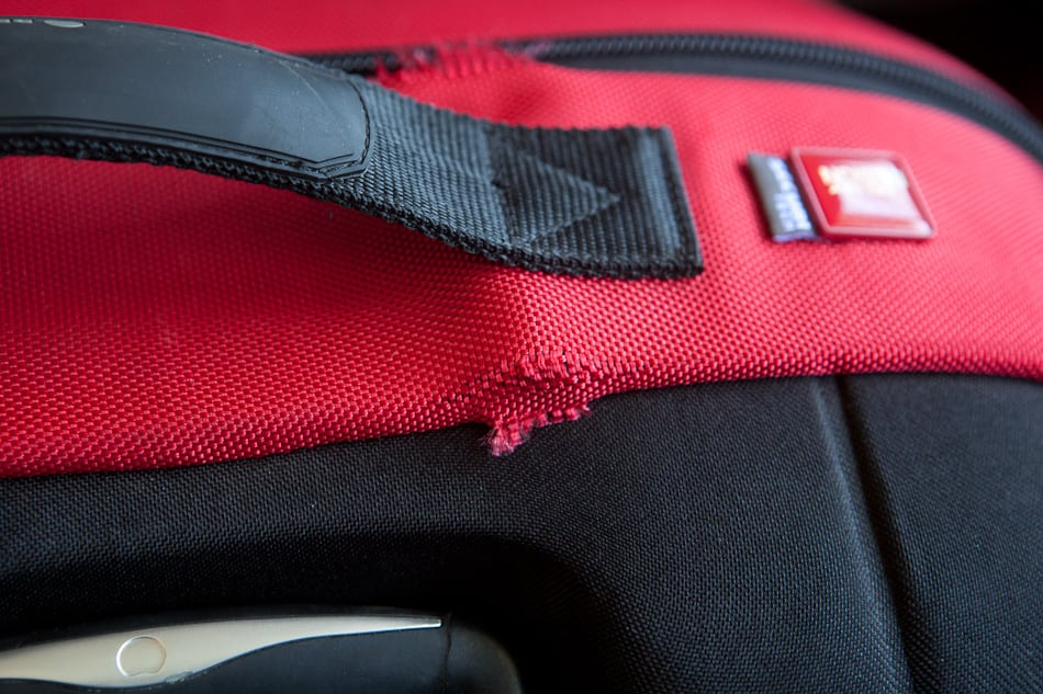 Review: Delsey Cross Trip Rolling Duffle