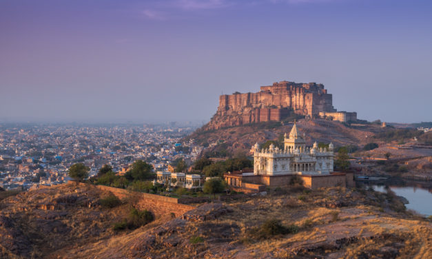 A Postcard from Jodhpur, Rajasthan