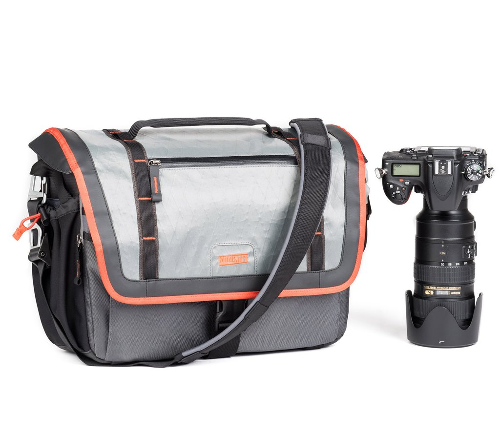 The MindShift Exposure shoulder bag is a storm-resistant carrying solution for the active photographer in virtually any outdoor environment