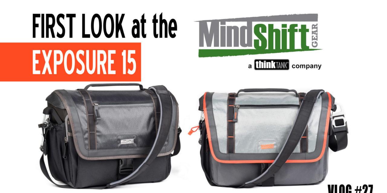 First Look: MindShift Gear Exposure Shoulder Bag