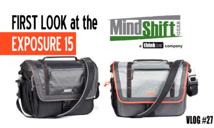 First Look: MindShift Gear Exposure Shoulder Bag