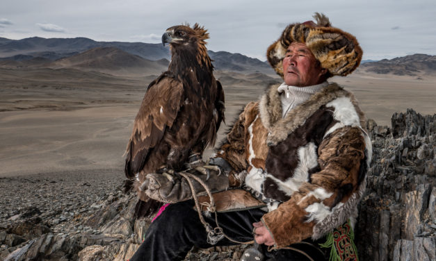 Portraits of the Mongolian Eagle Hunters
