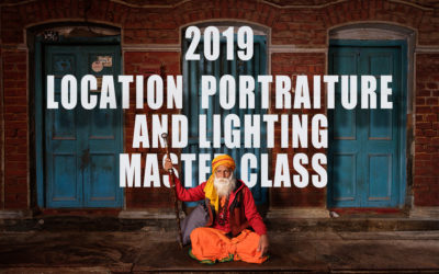 Announcement: 2019 Location Portraiture and Lighting Master Class