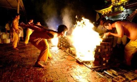 Nine Emperors FestivalOil Ceremony